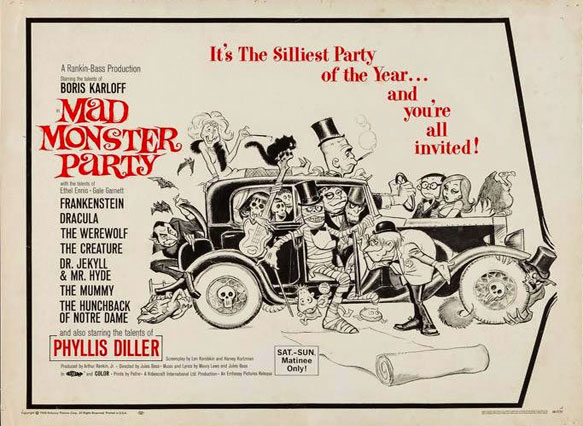 Image result for mad monster party 1967