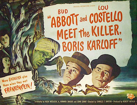 abbott and costello meet the killer 1949 chevy