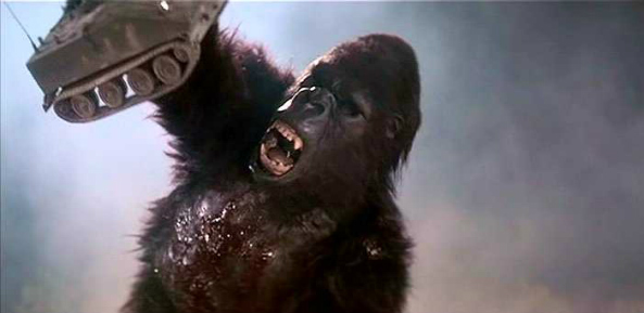 Image result for KING KONG LIVES (1986)