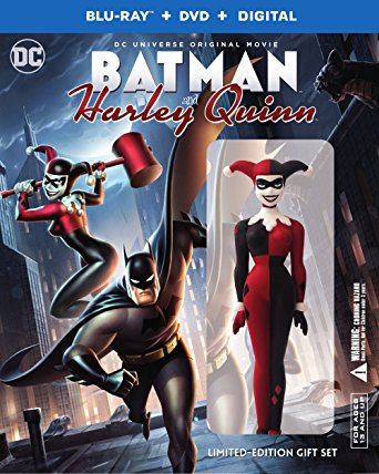 Batman And Harley Quinn 2017 Deluxe Edition Blu Ray Dvd Digital