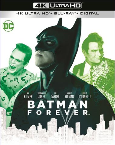 Batman Forever 1995 4k Uhd Blu Ray Digital