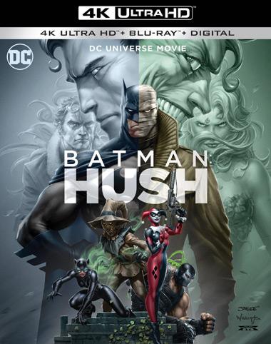 Batman: Hush (2019) [4K Ultra HD/Blu-Ray/Digital]
