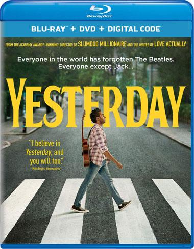 Yesterday (2019) [Blu-Ray/DVD/Digital]