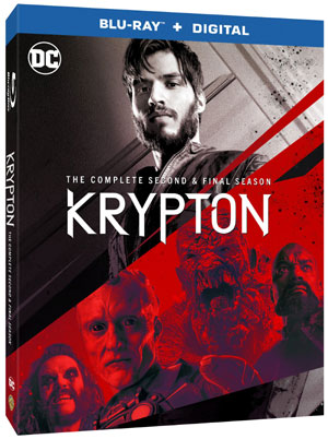 TV On DVD: Krypton: The Complete Second & Final Season [Blu-Ray/Digital]/Swamp Thing: The Complete Series [Blu-Ray/Digital]