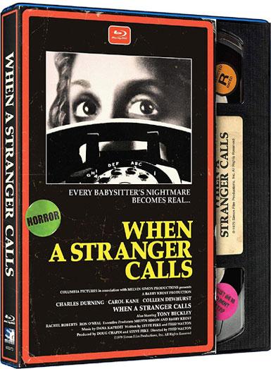 When A Stranger Calls (1979) – Retro VHS Style [Blu-Ray]