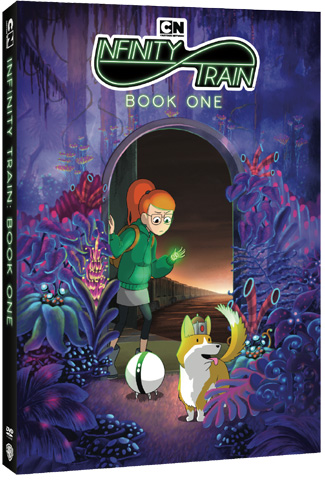 TV on DVD: Infinity Train: Book One (DVD)+Gift/Ronja, The Robber's Daughter: The Complete Series [Blu-Ray]