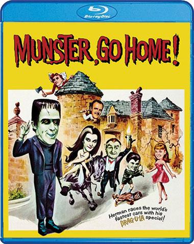 Munster, Go Home! (1966) [Blu-Ray]