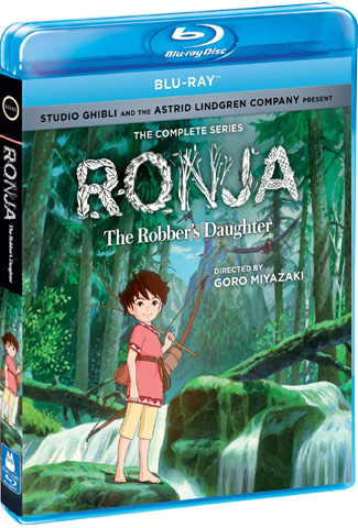 Ronja the robbers daughter book