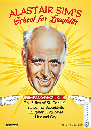 Alastair Sim's School for Laughter: 4 Classic Comedies [Blu-Ray]